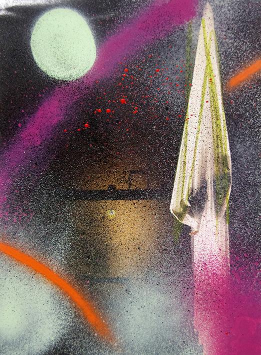 Manuel Pomar art contemporain contemporary pariétal préhistoire appropriation art Toulouse dérive amertume dessin histoire pop référence nature culture peinture Golgotha Golgotha picnic théâtre Garonne peinture spray techniques mixtes mix media drawing image picture abstrait abstrait peinture couleur gravité painting