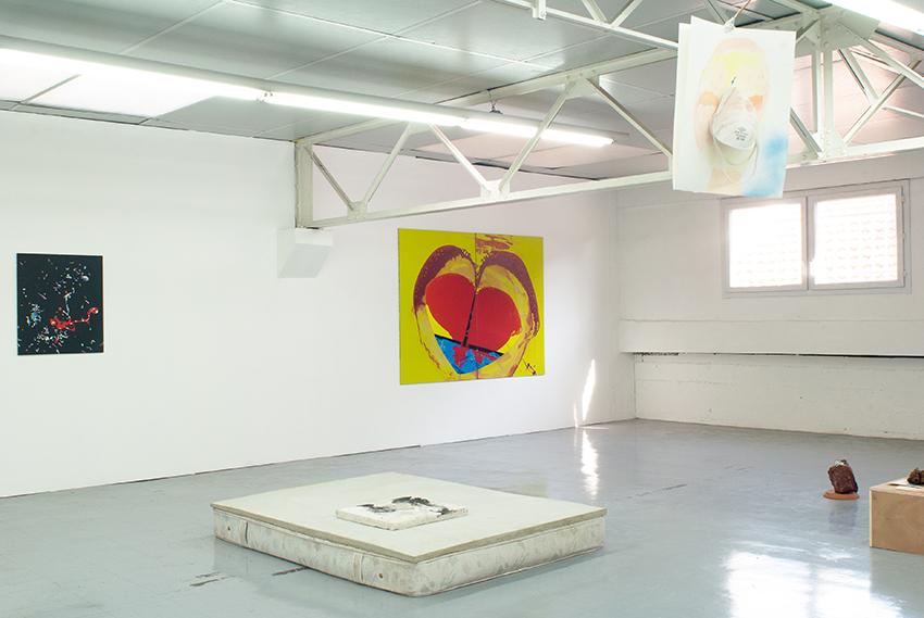 art contemporain Occitanie Toulouse contemporary art curator commissariat d'exposition commissaire Sarah Tritz Dominique Figarella Printemps de Septembre Manuel Pomar Peinture painting abstrait abstract