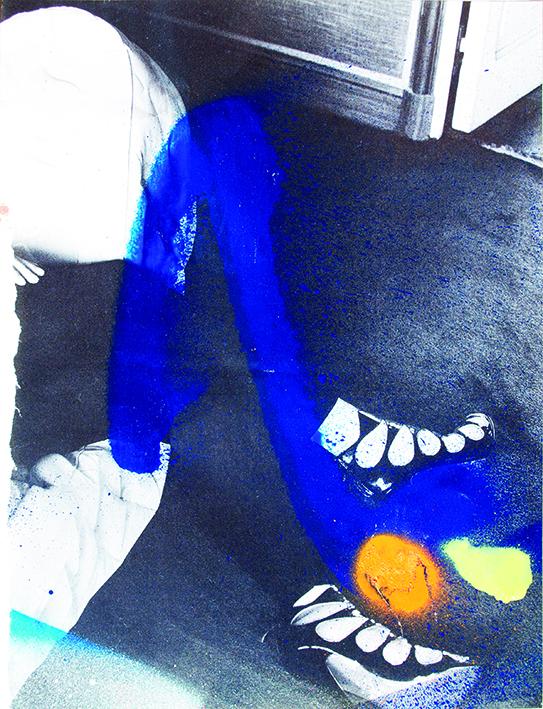 Manuel Pomar art contemporain contemporary art Toulouse dérive amertume dessin histoire pop référence nature culture peinture Golgotha Golgotha picnic théâtre Garonne peinture spray techniques mixtes mix media drawing image picture abstrait abstrait fetish shows leg legs peinture painting