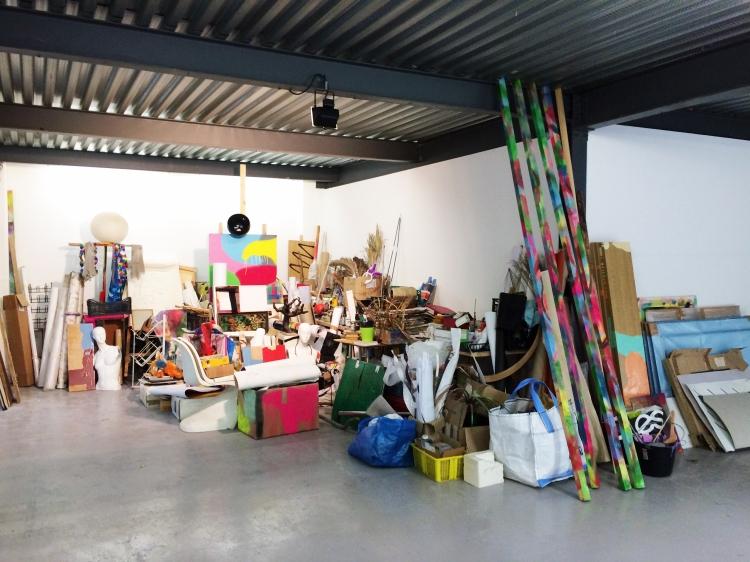 atelier studio Lieu-Commun art contemporain peinture painting