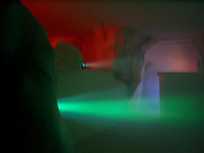 art contemporain contemporary art collectif d'artistes collective people alp le collectif alaplage les menteurs installation atmosphère Toulouse immersion lumière son son et lumière